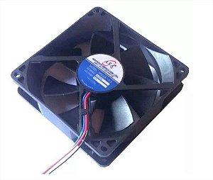 Cooler Adda12V9025S-12/3D91/390X90X25mm BUCHARPM: 3 FIOS C/ CONECTOR - 902512B