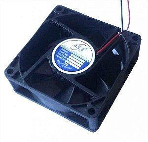 Cooler Adda12VASA7025HS-120701A 70X70X25mmBUCHAAmp.:0,25RPM:2 FIOS S/ CONECTOR 702512B