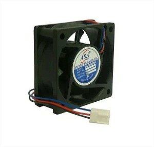 Cooler Adda 24v 6025S-24 D62 60x60x25mm BUCHA 3 FIOS C/ CONECTOR - 602524B