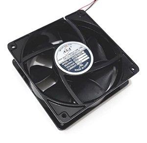 Cooler Adda 12V ASA-1212HB 1217A 120x120x38mm ROLAMENTO Amp.: 0,50 RPM 3200 2 FIOS S/ CONECTOR - 1203812R
