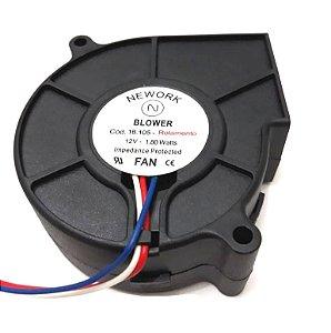 MINIVENTILADOR RT-080 12VDC BLOWER-080 - 80x80x30mm ROLAMENTO - 18105