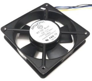 Cooler Nework 115/230V RT-120 53.201 120X120X25mm BUCHA RPM: 2400 / 2900 - 4 FIOS S/ CONECTOR