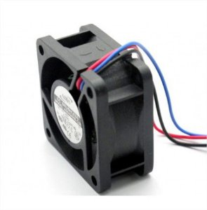 COOLER 40X40X20 - 12V - ROLAMENTO 0.14 AMP - 1.68 WATTS - 8500 RPM - 9.60 CFM 37.5 DB(A) - BERFLO - AD0412UBC56