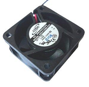 COOLER 40X40X20 - 12V - ROLAMENTO 0.08 AMP - 0.96 WATTS - 6900 RPM - 8.5 CFM 28,5 DB(A) - BERFLO - AD0412MBC50