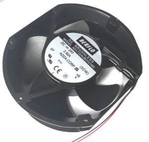 Cooler Berflo 24V AD17224UB5151MO (T) 1104 172X150X51 Rolamento Amp.: 2.90 RPM: 5300