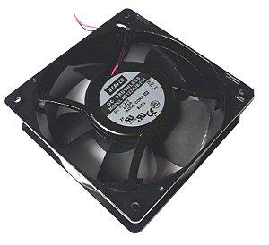 Cooler Berflo 24V 120X120X38 Rolamento Amp.: 0.40 RPM: 3200 CFM: 122 - DBA 48 - AD1224UB-F51 (T) 1031
