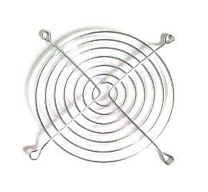 Grade Telinha De Proteção Para Ventoinha Cooler 120mm - CROMADA