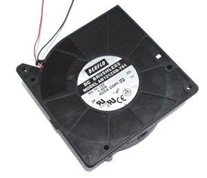 BLOWER 120X120X32 - 12V - ROLAMENTO 1,40 AMP - 16.80 WATTS - 3100 RPM - 38,00 CFM 57,0 DB(A) - BERFLO - AB1212XBY01