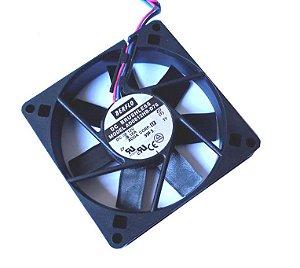 COOLER 80X80X15 12V ROLAMENTO 0.18 AMP 3200RPM - BERFLO AD0812HBD76