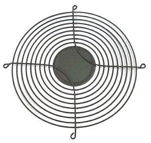 Metal preta com rebaixo para fixação (254mm) - para vent. de 205/254 mm MG254