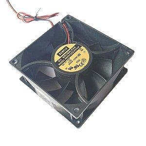 COOLER 92X92X38 - 12V ROLAMENTO 2.00 AMP - 5400 RPM - 130,00 CFM 59,5 DB(A) - BERFLO AD0912XBF91