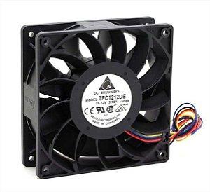 Cooler Delta TFC1212DE 12v 120x120x38  3.9amp 5500rpm