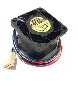 COOLER 40X40X28 12V ROLAMENTO 0.85 AMP - 20000 RPM - 22.37 CFM 60.9 DB(A) - BERFLO - AS04012XB285BA0