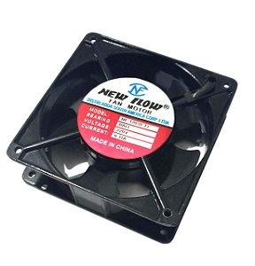 COOLER 120X120X38 220V ROLAMENTO MOD. NF 12038-T2  - 0,11Amp - 1210N
