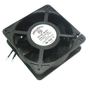 Cooler Nework Bivolt RT-120 53.102-EC 120x120x38mm ROLAMENTO - NYLON - RPM 3000 2 FIOS 12038BIR