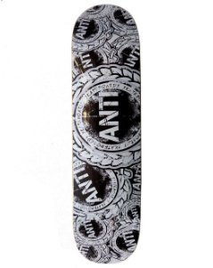 Shape Anti Black Skateboard