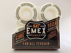 Rodas Emex Series 53mm White