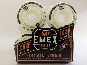 Rodas Emex Series 55mm Green