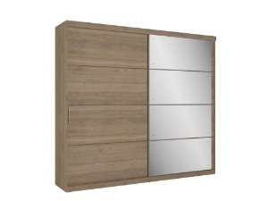 ROUP SOFISTICATTO FULL GLASS 2P CANELA BP WOOD 4905