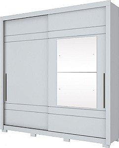Roupeiro Delicato 02 Portas Deslizantes Branco HP D208-05 HENN