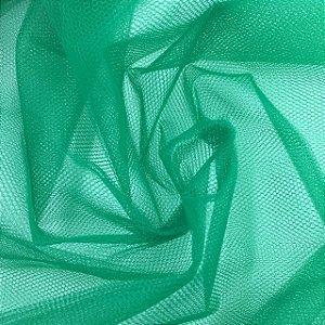 Tule Liso Verde Bandeira