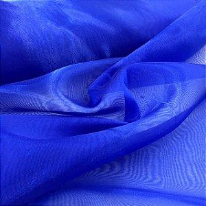 Organza Cristal Azul Royal