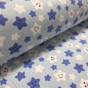 Soft Estampado Estrelas Azul