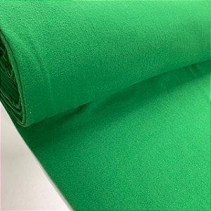 Helanca Flanelada Verde Bandeira