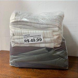 Cortes de Decoração 5kg - Pacote 5