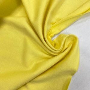 Malha de Algodão Amarelo Bebê