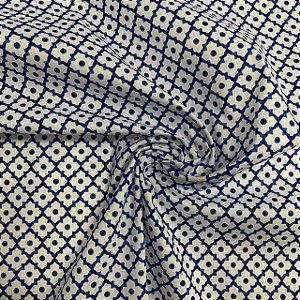 Tricoline Estampada Azulejo Português Braga