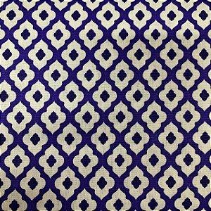 Tricoline Estampada Azulejo Português Guimarães