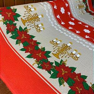 Linhão Estampado Mesa de Natal
