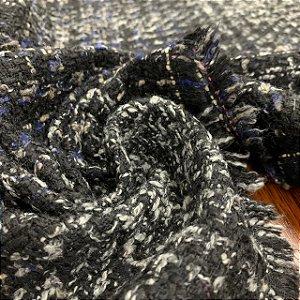 Lã Tweed Riscado