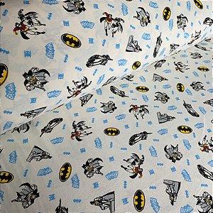 Malha de Algodão Batman Off-White