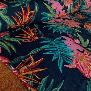 Viscose Estampada Floral Havaiano