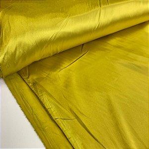 Cetim Com Elastano Amarelo
