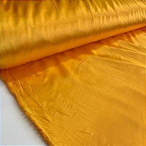 Cetim Com Elastano Amarelo Ouro