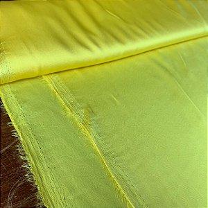 Toque de Seda Liso Amarelo