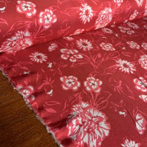 Viscose Estampada Florescer Rosa