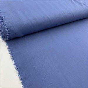 Crepe Chiffon Liso Azul Cobalto