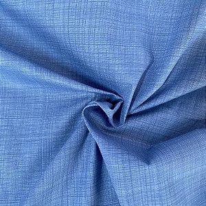 Tricoline Azul Xadrez
