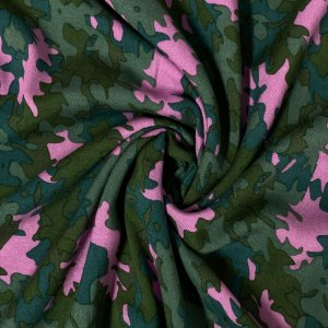 Viscose Estampa Camuflada