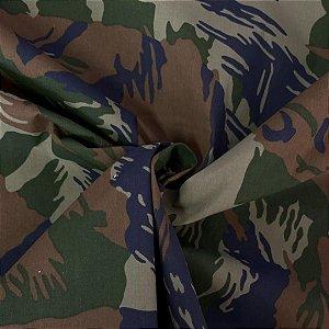 Nylon Resinado Camuflado