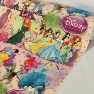 Suede Estampado Princesas Disney