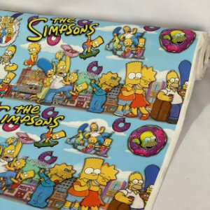 Suede Estampado Simpsons