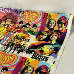 Suede Estampado The Beatles