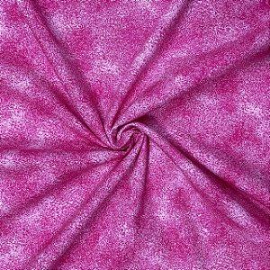Tricoline Estampado asponjado rosa