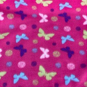 Soft Estampado Borboletas Rosa