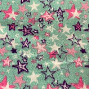 Soft Estampado Estrelas Fundo do Mar